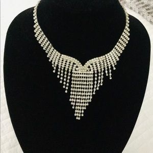 Waterfall sparkle necklace.